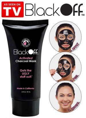 mascarilla para eliminar puntos negros Black Off carbon