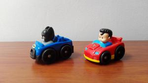 Dos Carros fisher price Little People Wheelies DC Super