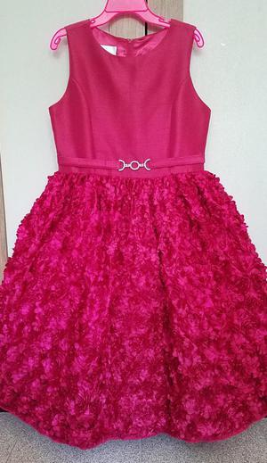 Vestido Elegante Para Niña Talla 10 Boutique Americana