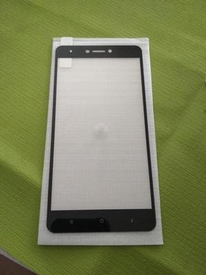 Vidrio Templado Xiaomi Redmi Note 4 Versión Global Negro