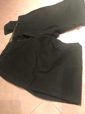 Pantalon Zara Negro Talla 31 Poco Uso