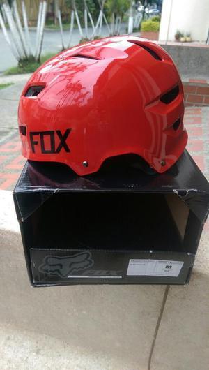 Promo Casco Fox Bmx Talla S Rojo