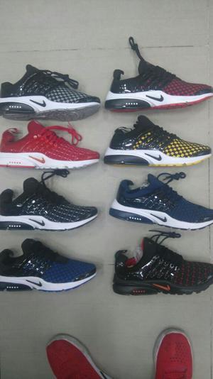 Tenis Zapatillas Nike Presto Hombre  Nuevos Colores