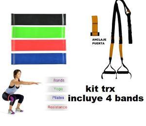 trx 4 bandas cerradas elasticas... super combo ¡