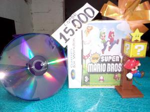 Combo Juego Mario Bros Pc Figura Mario