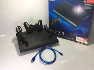 Consola Ps3 Ultra Slim 250 Gb 1 Control Garantía Caja