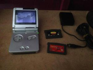 Game Boy Advance sp con 3 juegos