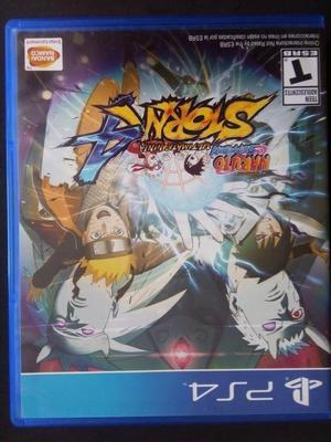 Juego Naruto Ultimate Ninja Storm para Play 4