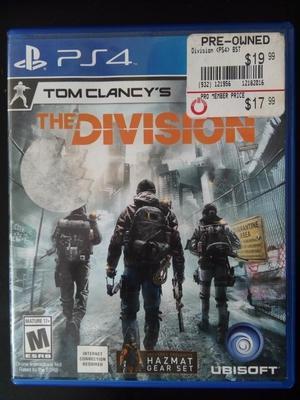 Juego The Division para Play 4