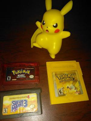 Juegos Game Boy Pokemon