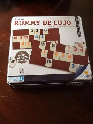 Rummy Q De Lujo Para 4 Jugadores