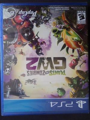Videojuego Plants VS Zombies GW2 para Play 4 NUEVO
