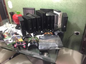 Xbox 360 Slim 2 Controles Y 100 Juegos