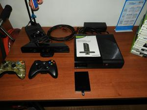 Xbox 360 con Controles, Kinect Y Memoria
