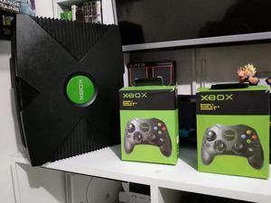Xbox Clásico en Perfecto Estado 2 Contro