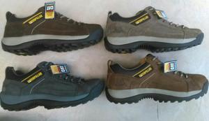 Caterpillar Zapato Cuero Hombre Newcolor