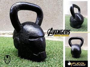 Pesa Rusa 12kg en Hierro Iron Man