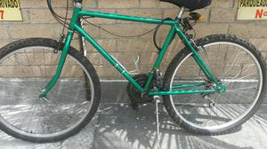Vendo Bicicleta Color Verde
