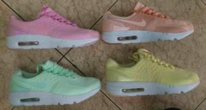 Zapatillas Nike Airmax Zero Mujer 4 Colo