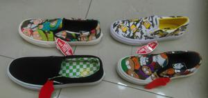 Zapatillas Vans Hombre 4 Colores