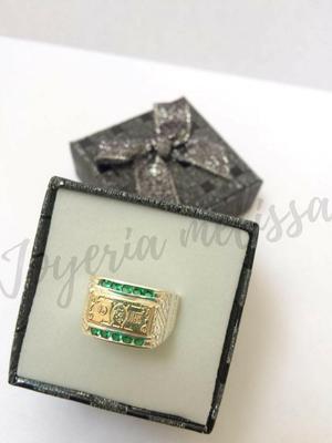 Anillo para caballero en plata 925 diseño Dólar Joyería,