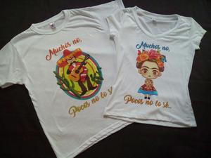 Camisetas Para Parejas Novios Esposos Amigos