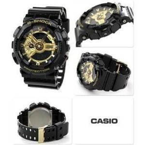 Casio Gshock Negro con Dorado Nuevo