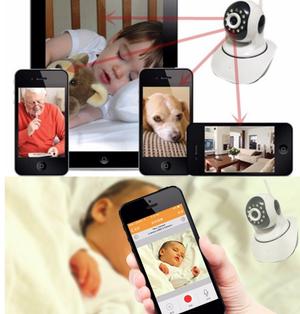 Cámara de seguridad WIFI HD 960pp visión nocturna