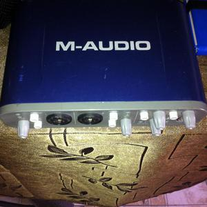 M AUDIO INTERFAZ