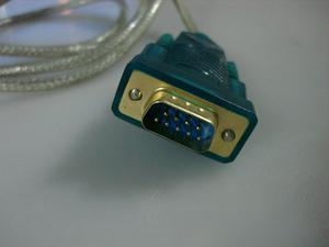 Cable convertidor o adaptador Serial DB9 a USB con Garantia