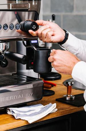 Ganga! Hermosa máquina de café molino de café profesional