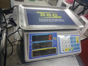 marca BBG Bascula Electronica Peso Digital Pesa $