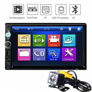 Radio Pantalla 7 Táctil Bluetooth Camara