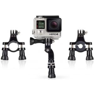 Soporte Manubrio para cámara GoPro en Moto y Bici