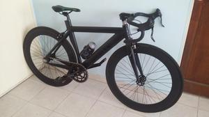 Bicicleta Fixie Aluminio Negra