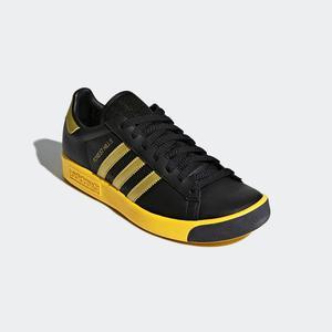 Tenis adidas Forest Hills Negros Amarillo 10us
