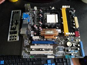 Board Amd Asus M3n78 Am2 4 Slot Ddr2 Ecc Reg Hdmi,vga,dv