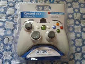 Control Gamer para Pc Tipo Xbox
