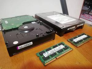 Discos Duros de PC y memoria RAM
