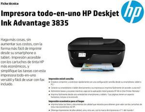 Impresora Todoenuno Hp Deskjet Ink Adv