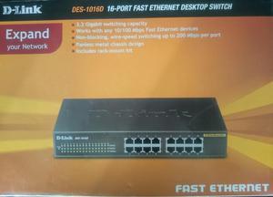 switch dlink Des d