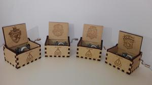 Cajas musicales Harry Potter y Game Of Thrones