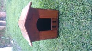 Casa para mascota en madera