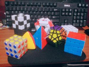 Vendo Mni Coleccion de Cubos de Rubik