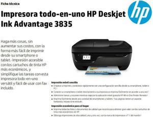 Impresora Multifunciónal Hp Deskjet Ink