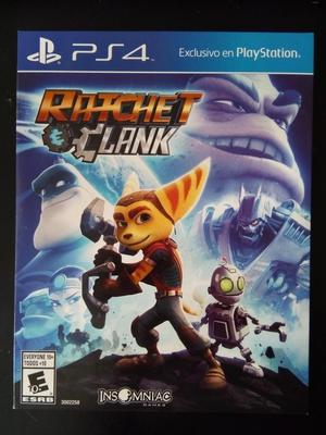Juego Ratchet Clank Play Station 4