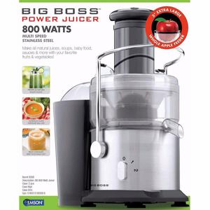 R Extractor de Jugo: Big Boss 800 Watts
