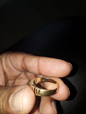 Anillo Oro 18 Kilates Ganga