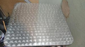 Mesa Y 2 Sillas en Aluminio