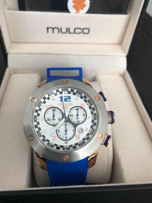Reloj Mulco Prix cronografo Original Nuevo